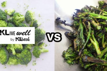 Φρούτα και λαχανικά: Να τα τρώω ωμά ή μαγειρεμένα;