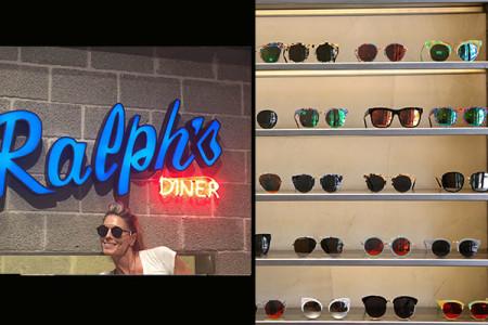 Ralph's Diner: Tα πιο hot executive γυαλιά ηλίου... μέσα σε μαρμάρινο νιπτήρα!