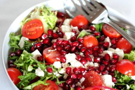 Φτιάξε την τέλεια σαλάτα με ρόδι