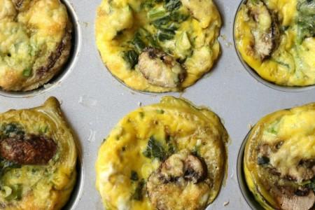 Φτιάξε τα πιο νόστιμα αυγο-μάφιν για να έχεις ένα εύκολο σνακ ανά πάσα ώρα και στιγμή!