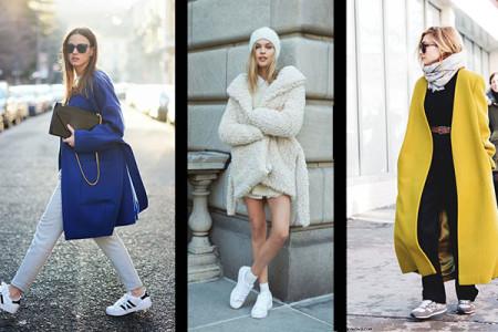 Street Style: Tα sneakers που θα λατρέψεις...