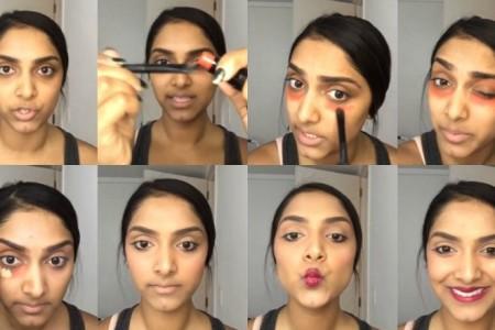 Εξαφάνισε με κόκκινο κραγιόν μαύρους κύκλους και σημάδια από το πρόσωπό σου (video)