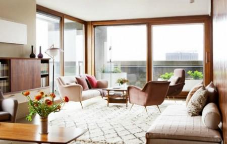 Πάρε ιδέες χειμωνιάτικης διακόσμησης από ένα σούπερ ζεστό Λονδρέζικο διαμέρισμα!