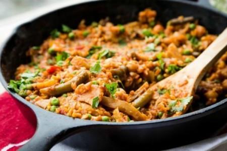 Φτιάξε την πιο light και vegetarian παέγια. Είναι απίστευτη!