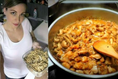 20 Minute Meal: Στριφτά Μακαρόνια με Σάλτσα Μανιταριών