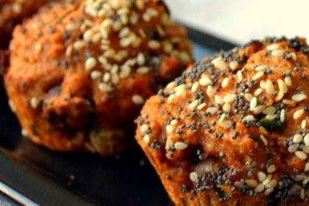 Αλμυρά Vegan μεσογειακά Muffins: Θα τα λατρέψεις!!!