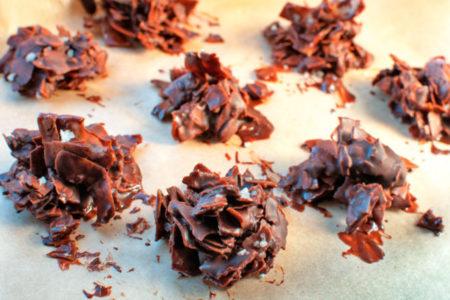 Αλατισμένα σοκολατάκια καρύδας