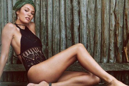 Γυμνάσου σαν Άγγελος της Victoria's Secret: Ασκήσεις για τα πόδια από την Candice Swnepoel!
