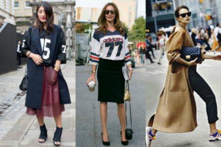 Δες εδώ τα καλύτερα sporty street style look για να αντιγράψεις
