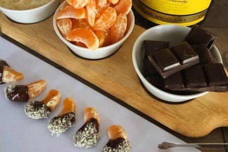 Μανταρίνια με επικάλυψη σοκολάτας και μόνο 100 θερμίδες!