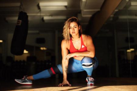 Chinae Alexander: H fitness instagrammer που ζύγιζε 102 κιλά αποκαλύπτει...