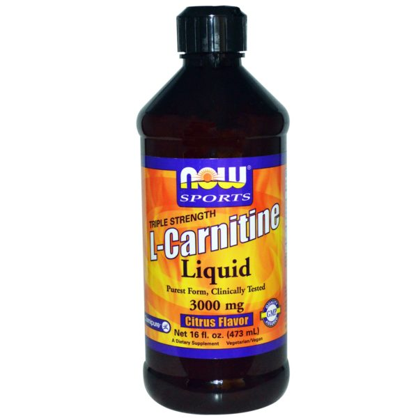 nowfoods L-Carnitine keepup