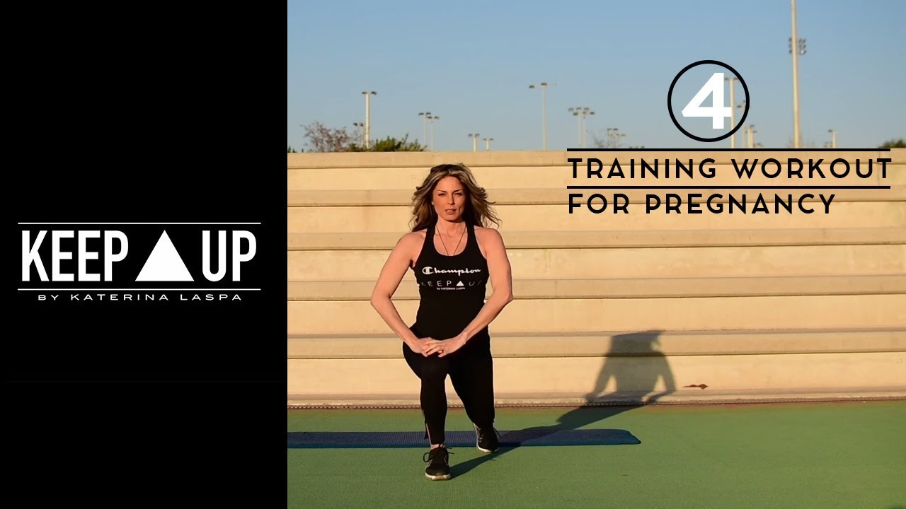 KeepUp by Katerina Laspa - Training Workout for Pregnancy 4