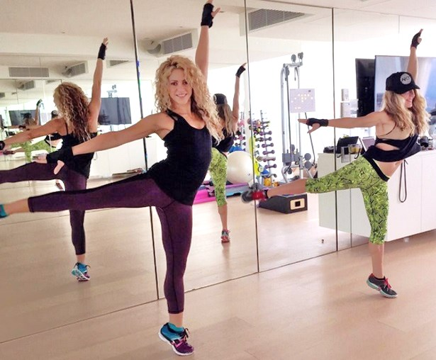 shakira-diet-workout